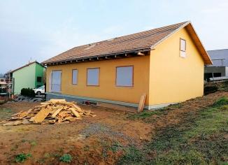 Dřevostavba rodinného domu