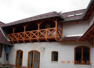Rekonsrukce střechy Kuničky