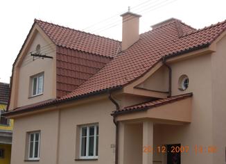 Rekonstrukce střechy Blansko