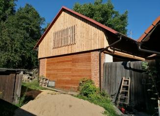 Dřevostavba domu v Hluboké u Kunštátu