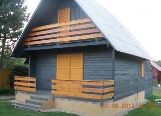 Rekonstrukce rekreační chaty, Suchý