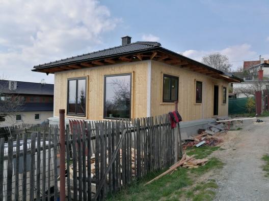 Dřevostavba Újezd u Boskovic
